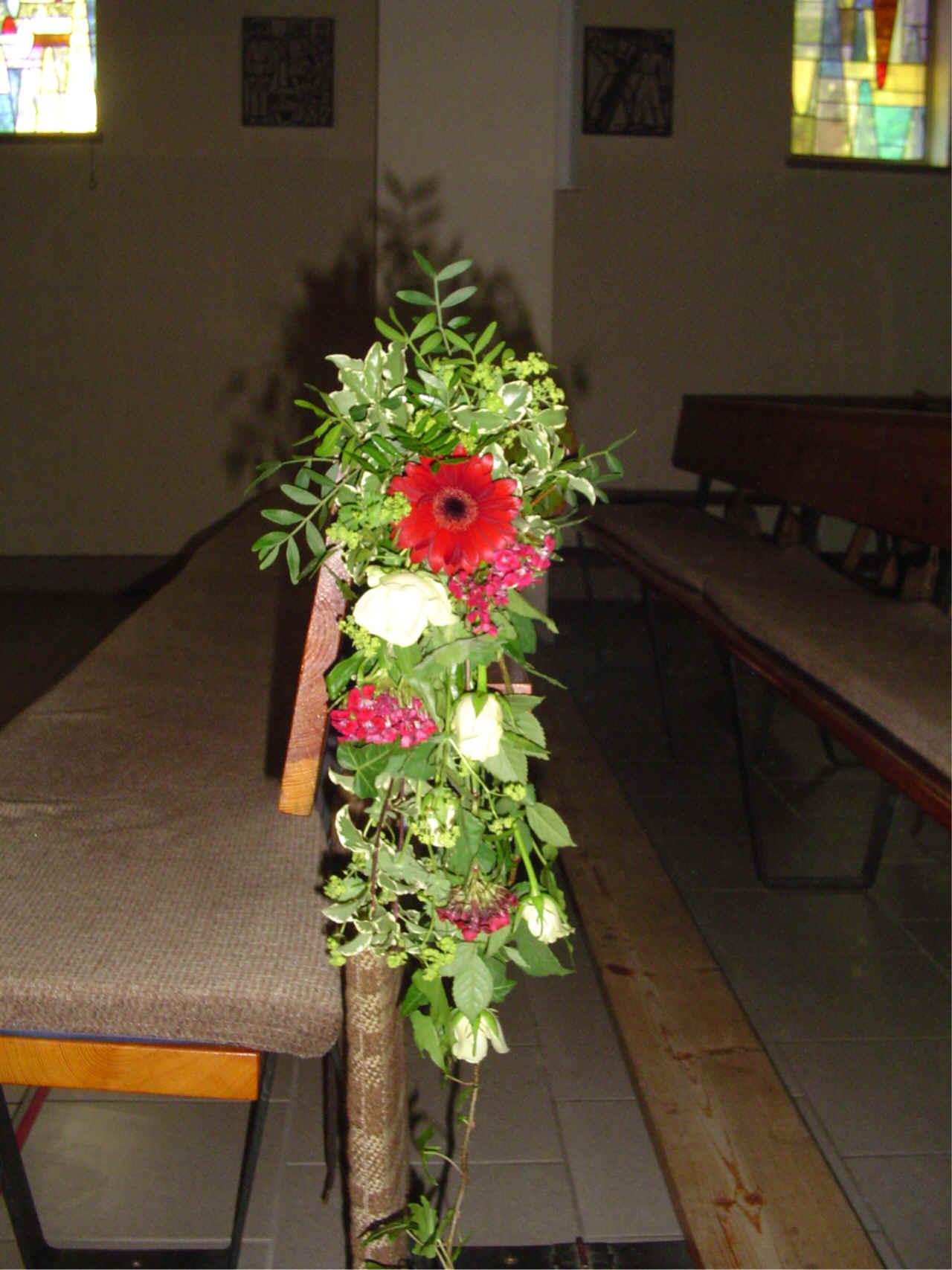 Kirchenbankdeko Blode Kirchenbanke Hilfe Hochzeitsforum